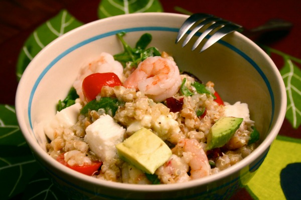 mizkan nakano farro shrimp salad recipe