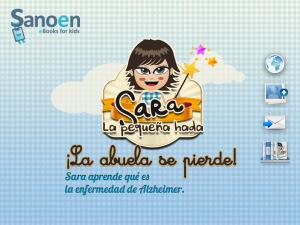 sara la pequeña hada bilingual app