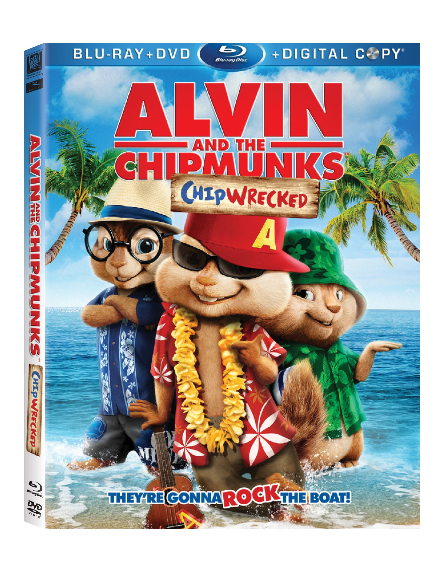 Alvin The Chipmunks: Chipwrecked