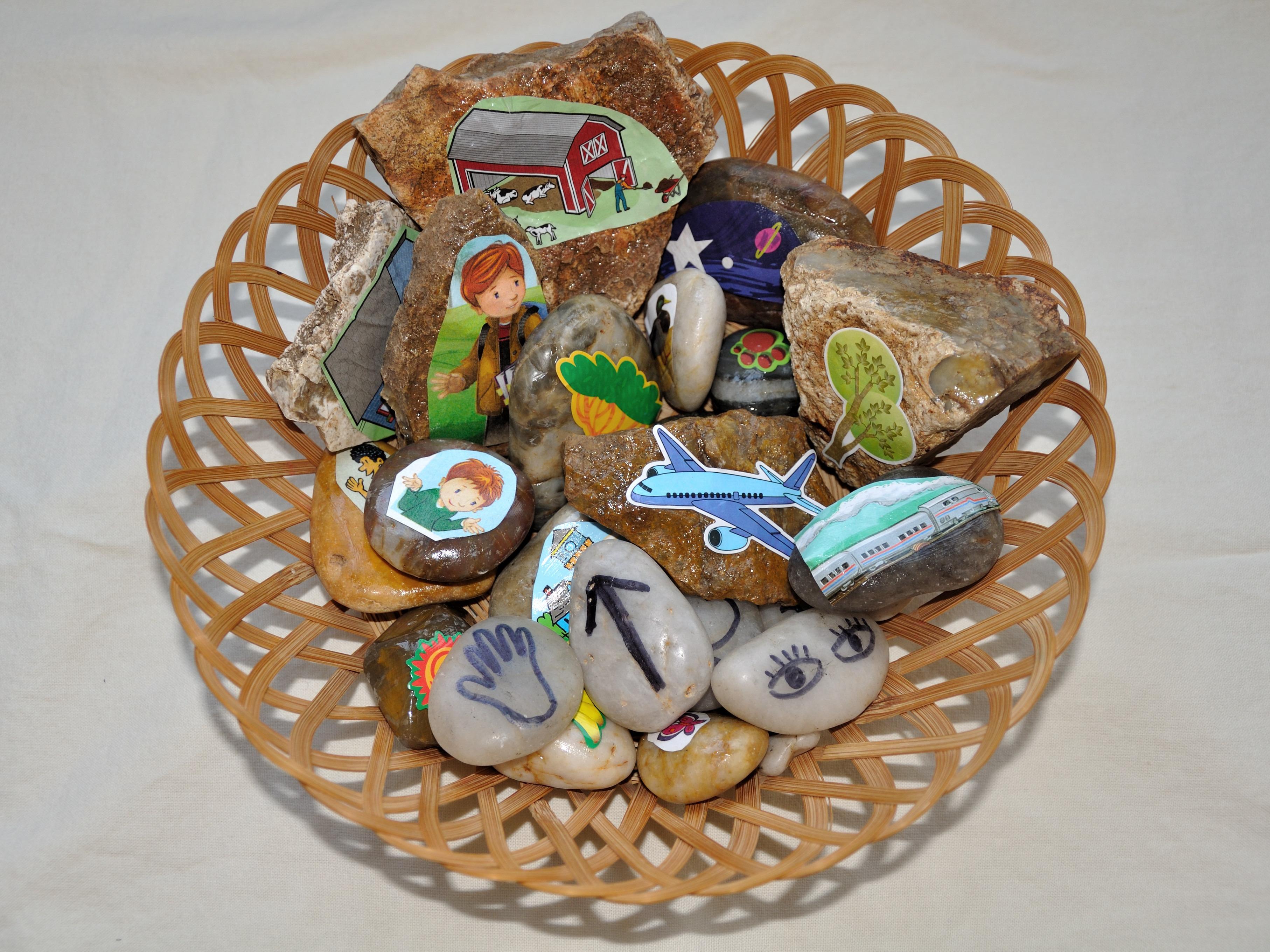 story stones activity