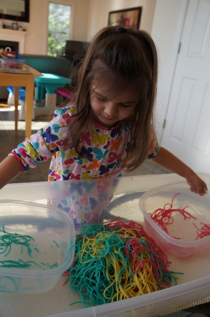 spaghetti sensory activity 