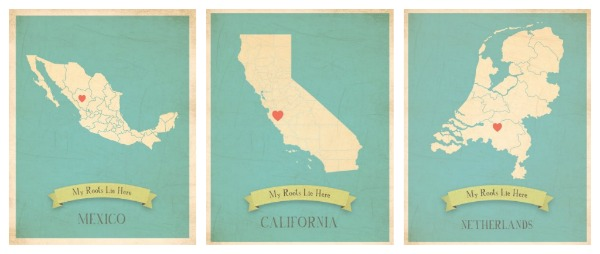 Children Inspire Design Roots Maps collection