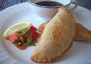 Oriental Empanadas with Citrus Soy Sauce recipe