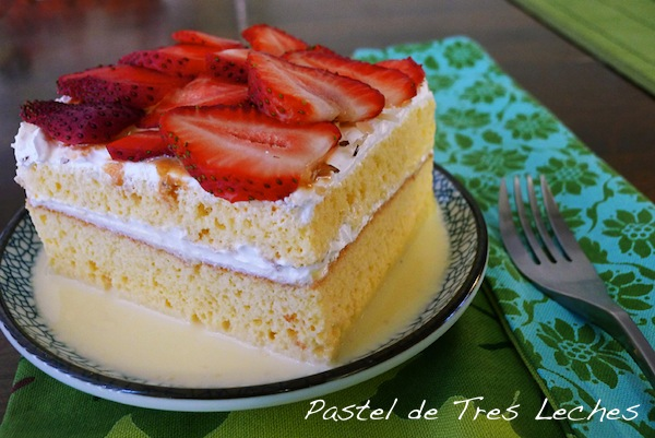 Traditional Pastel de 3 Leches {Recipe}