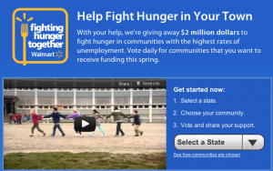 walmart fighting hunger