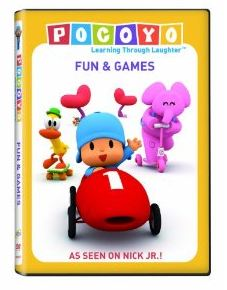Pocoyo Fun and Games DVD