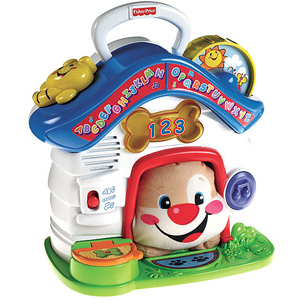 fisher price puppy's playhouse