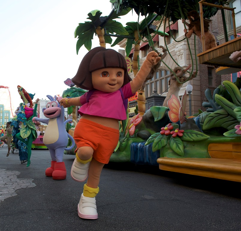 Dora the Explorer Universal Superstar Parade