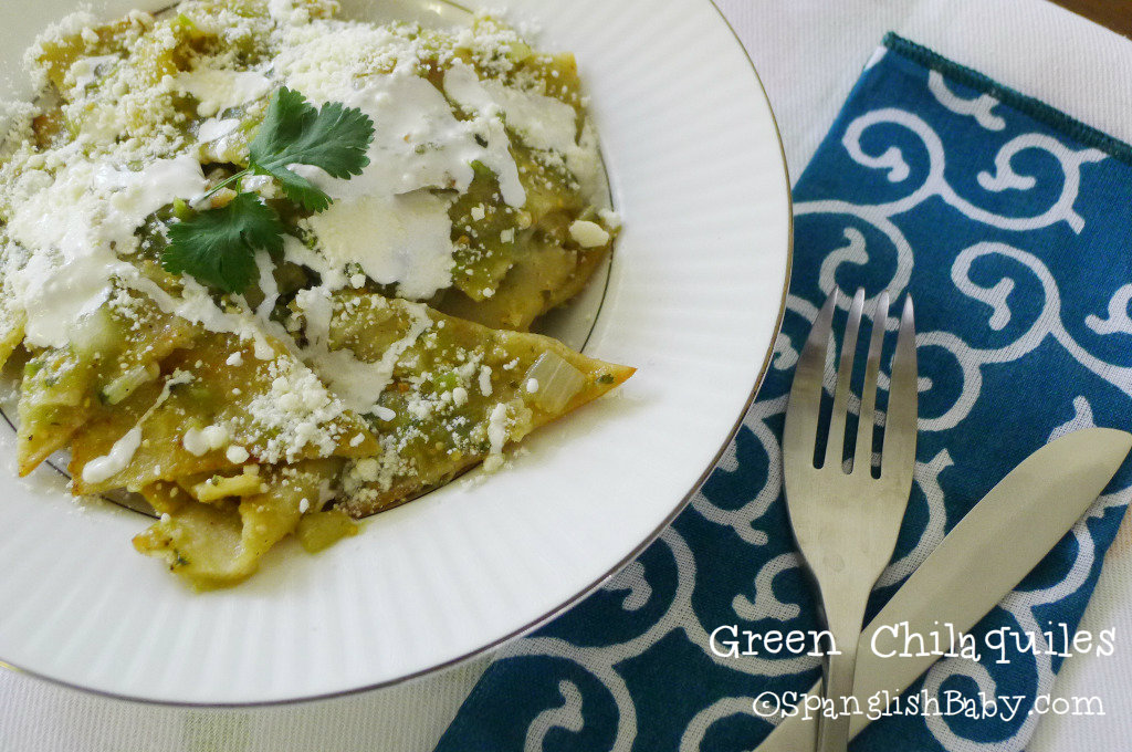 Green Chilaquiles recipe