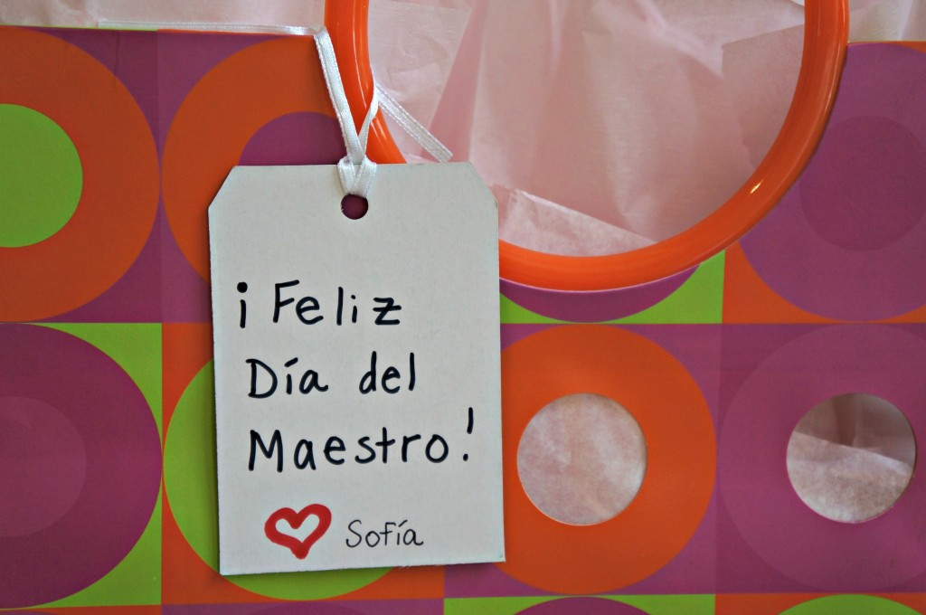 teacher's appreciation day gift thrifty bilingual