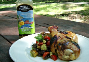 Lemon-garlic grilled chicken 13