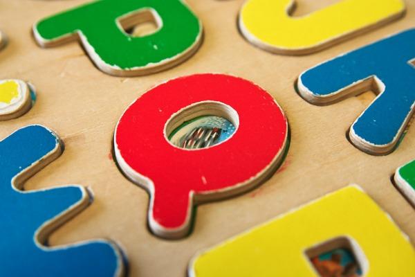 alphabet puzzle letters