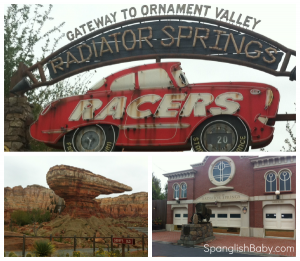 radiator springs racers cars land opening pov ride through