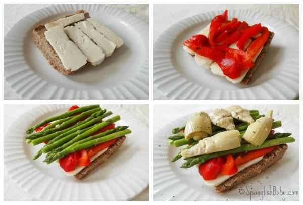 Mediterranean VeggieSandwich recipe