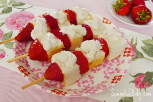 strawberry shortcake on a stick recipe