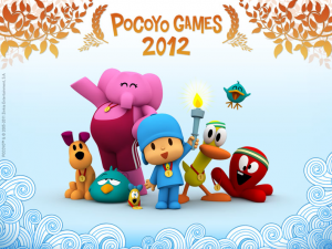 pocoyo games olympics activities spanish kids children