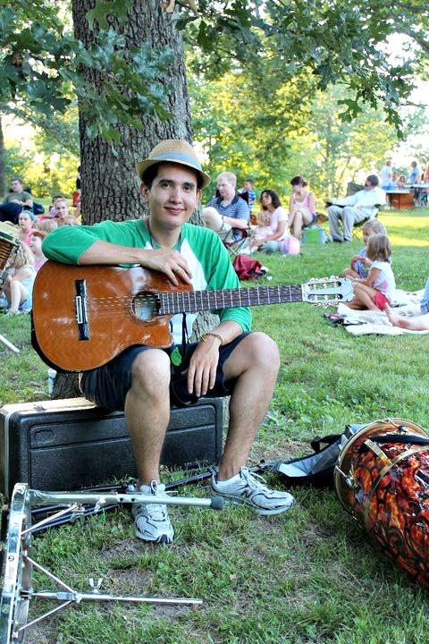 Uno, Dos, Tres Con Andrés bilingual music