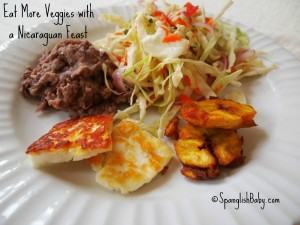 eat more veggies with a nicaraguan feast