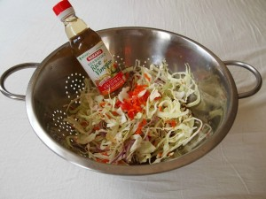 ensalada de col, cabbage salad recipe