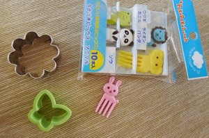 Bento Box Lunch Tools