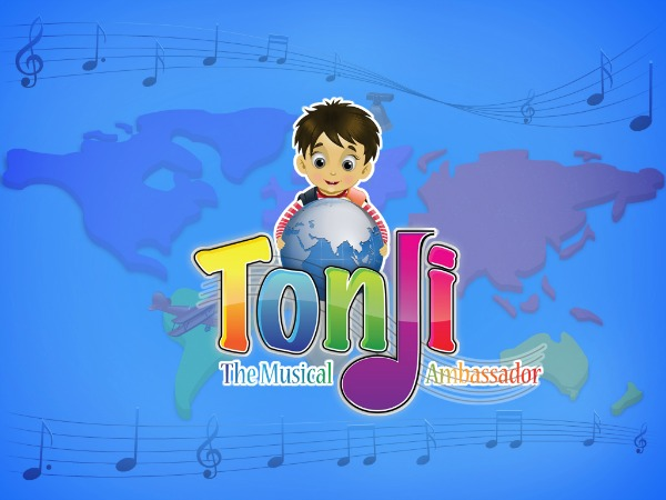 Tonji The Musical Ambassador iPad app & CD