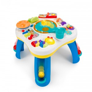 Bright StartsTM having a ballTM lets get rolling activity table