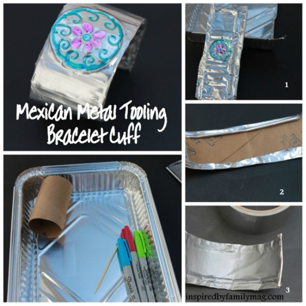 Hispanic Heritage Month Craft- Mexican Cuff Bracelet
