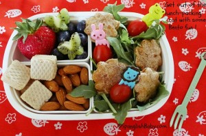 Bento lunch-packing