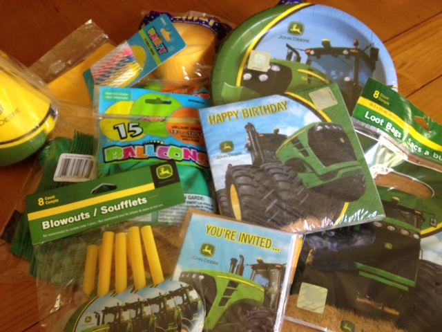 The John Deere Standard Pack For Includes Everything You Need