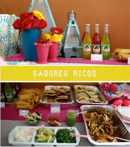 latina inspired baby shower