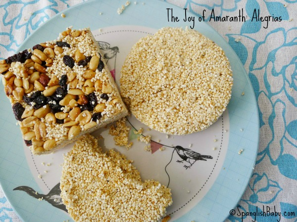 The Joy of Amaranth: Alegrias recipe