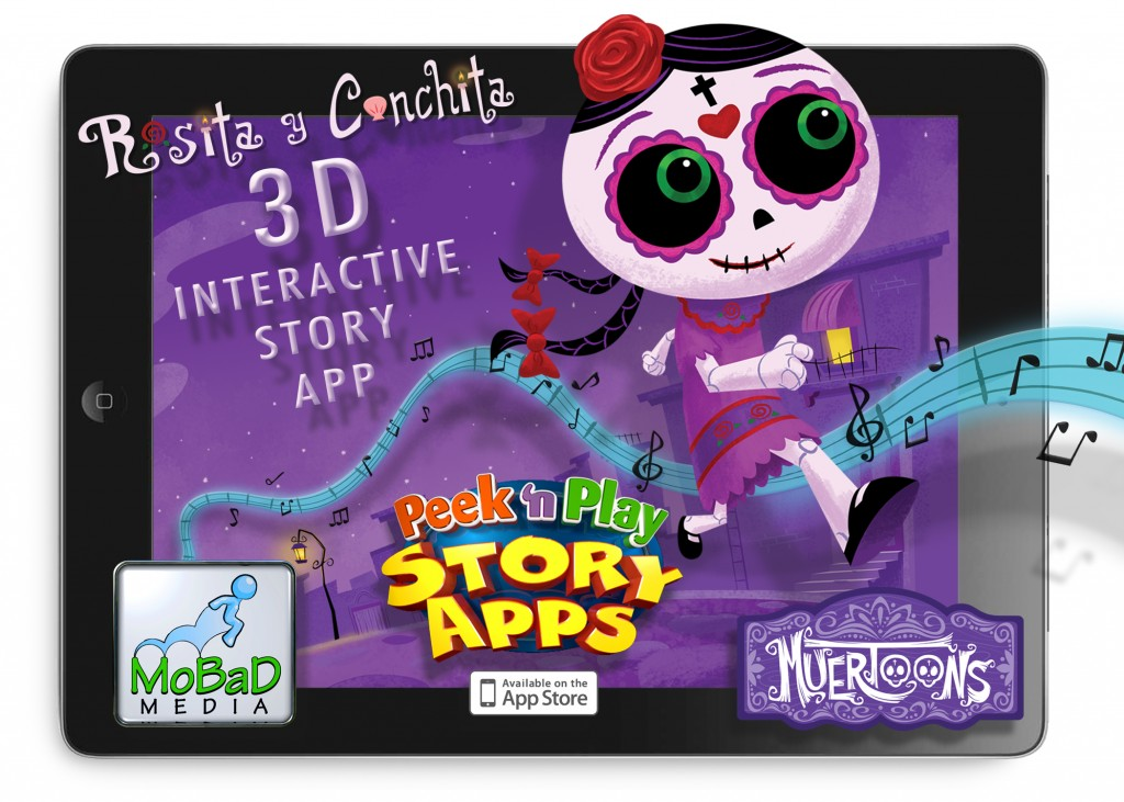 rosita y conchita interactive app day of the dead spanish bilingual