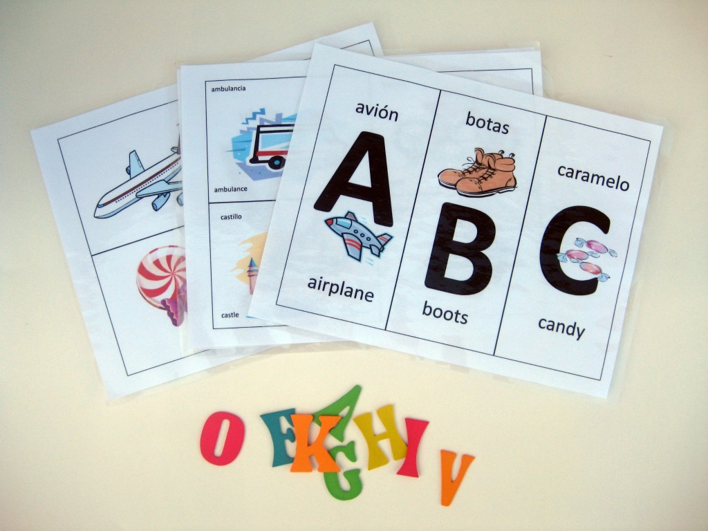 free printable alphabet flashcards in spanish