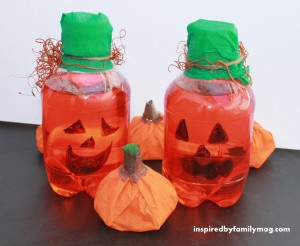 Pumpkin Drink Favors