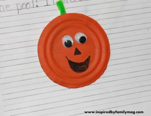 recycled pumpkin craft