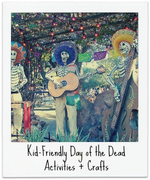 Kid-Friendly Day of the Dead Activities + Crafts