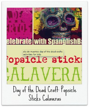 Day of the Dead Craft: Popsicle Sticks Calaveras