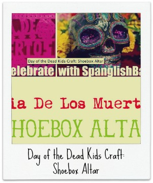 day of the dead craft: shoebox altar