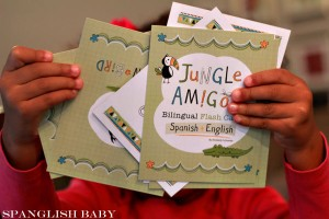 Bebe-Bilingual flashcards