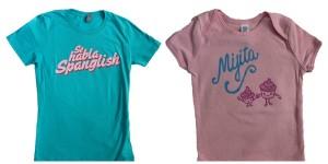 Dos Borreguitas Spanglish T Shirts