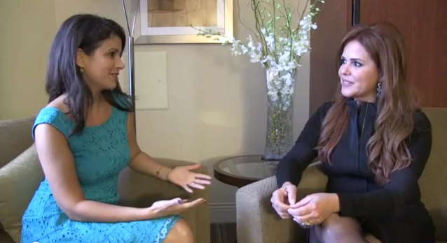 Maria Celeste Arraras interview entrevista hijos raising bilingual kids