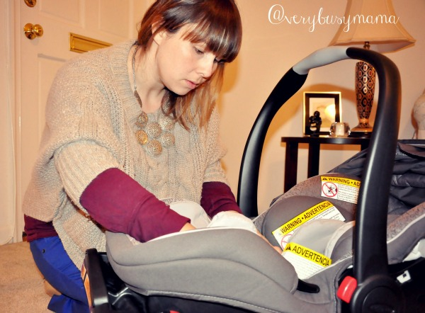 Graco SnugRide Click Connect 40 Carseat review by Very Busy Mama