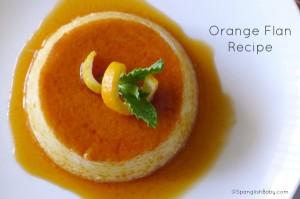Orange Flan recipe