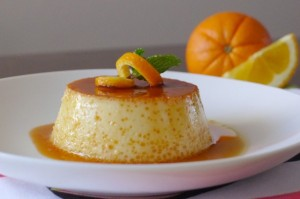 orange flan recipe