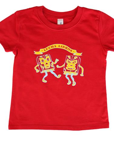 lucha libros t-shirt