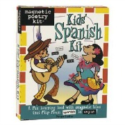 magnetic poetry kids spanish kit