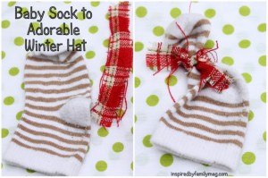 sock to adorable winter hat
