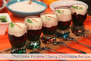 Chocolate Picante , Spicy Chocolate Recipe by Rafael Calderón