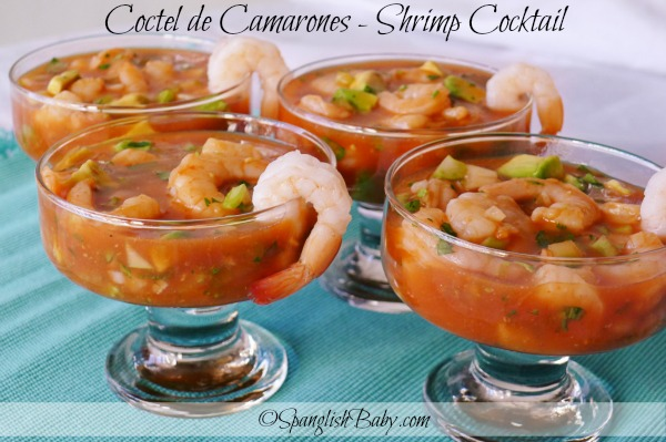 Coctel de Camarones Shrimp Cocktail recipe