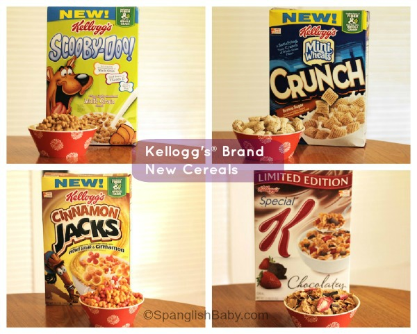 Kellogg´s new cereals for 2013